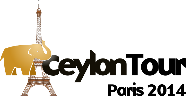 Ceylon Tour Paris 2014 logo