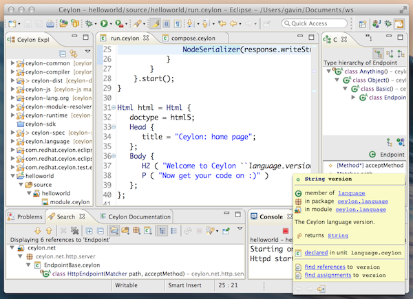 ide screenshot